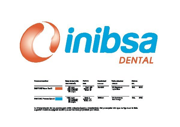 Logo Inibsa Dental color Volumetrico